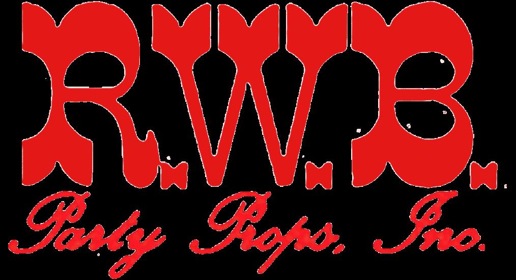 RWB Party Props